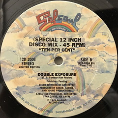 DOUBLE EXPOSURE:TEN PER CENT(LABEL SIDE-B)