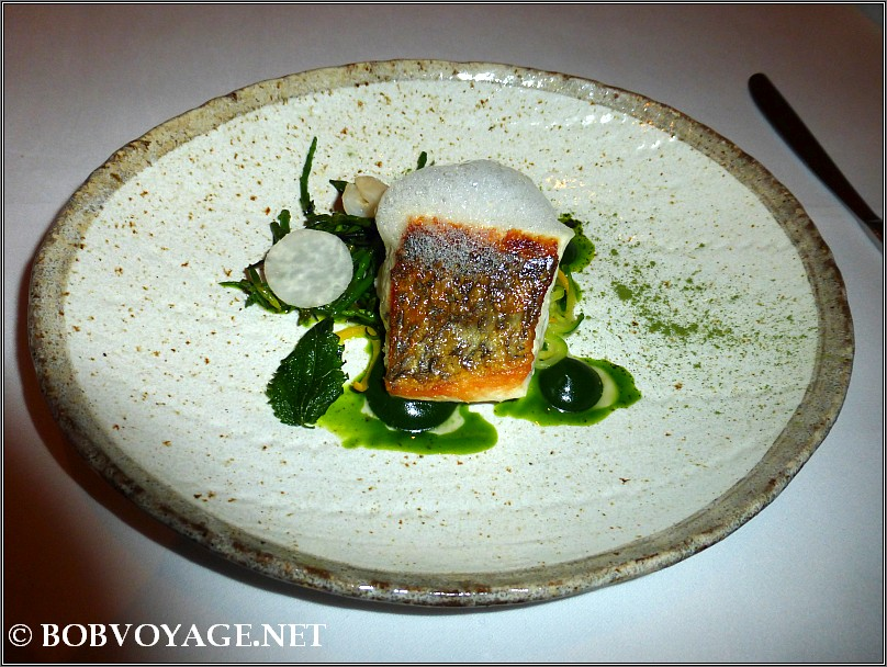Stone Bass at L'ortolan