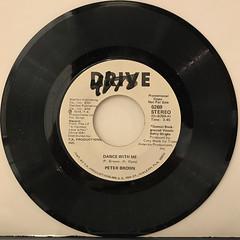 PETER BROWN:DANCE WITH ME(RECORD SIDE-B)