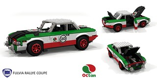 Lancia Fulvia Rallye Coupe - Octan Racing