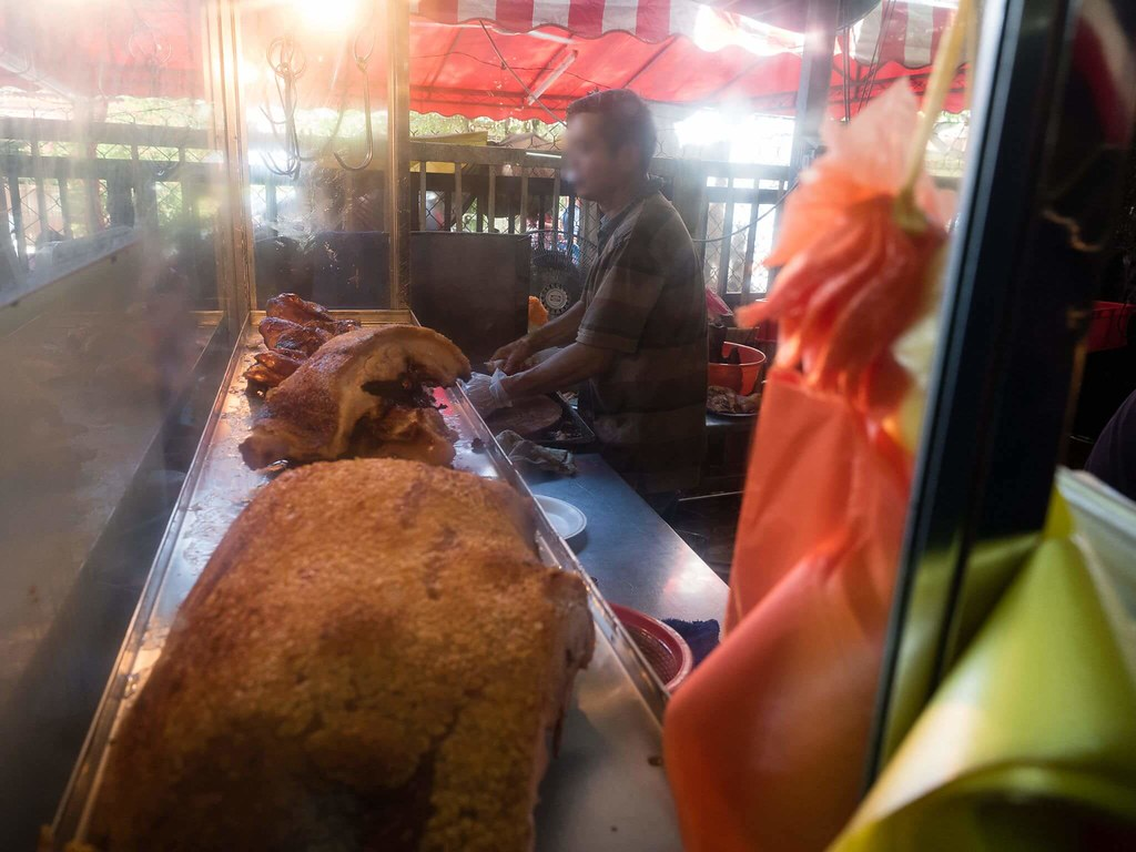 Roasted Pork stall