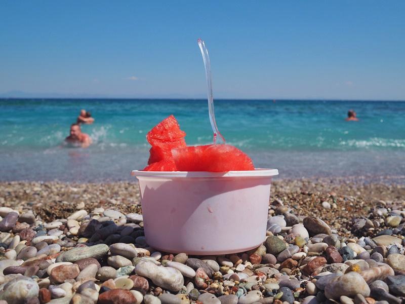 fresh-watermelons-beach-tuulinenranta-rodos