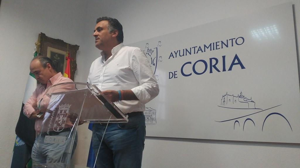 El Ayuntamiento de Coria concederá dos medallas de honor a Protección Civil y Cruz Roja