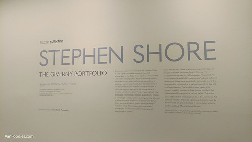 Stephen Shore Exhibit at Vancouver Art Gallery