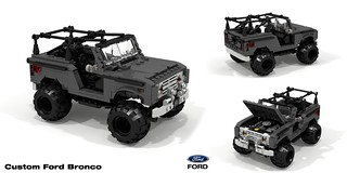 Custom Ford Bronco Gen I