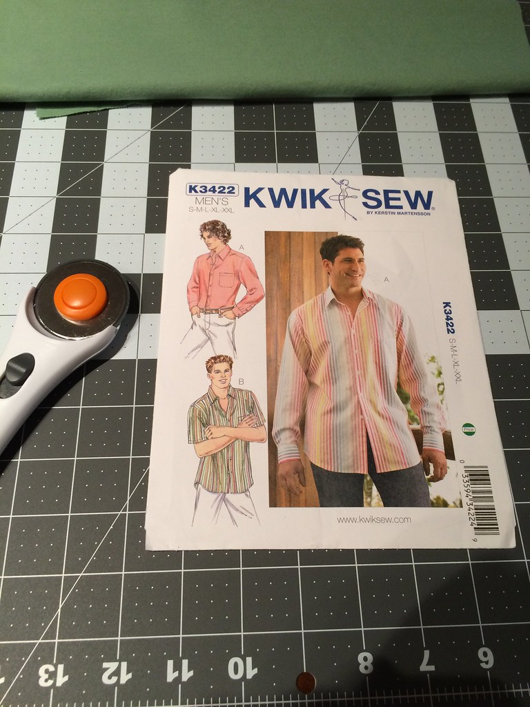 Green Shirt Sewing