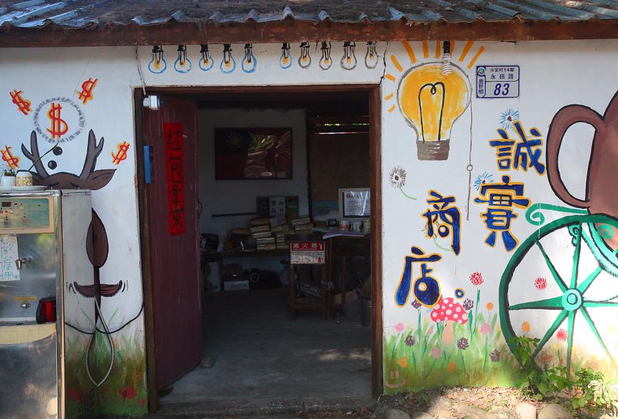 台東景點鹿野武陵綠色隧道B06