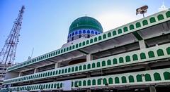 Clicks captured during Namaz e Jumma today at Global Madani Markaz Faizan e Madina Karachi