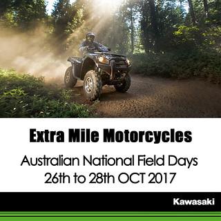 KAWASAKI DEALER EVENT – 2017 ANFD Australian National Field Days: 26th to 28th OCT 2017
