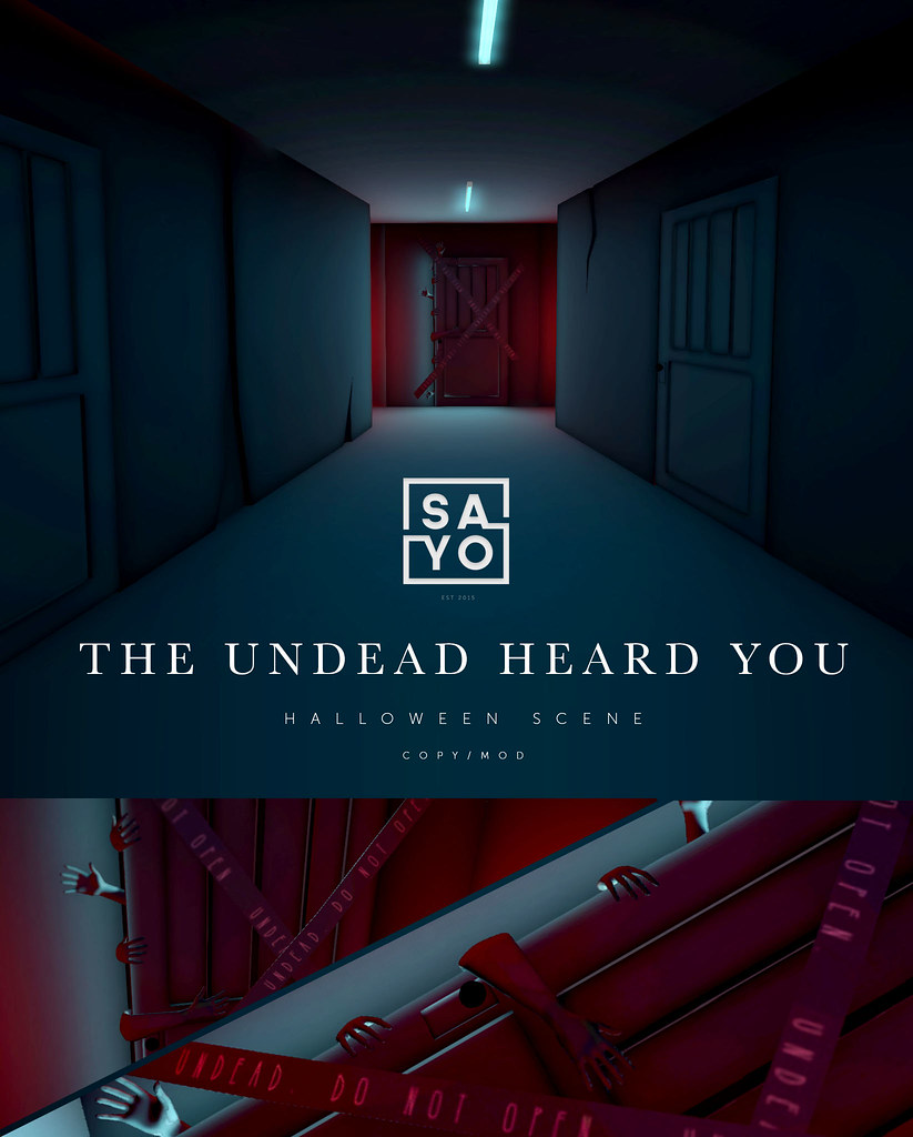 SAYO – The Undead Heard You Halloween Scene @ N21