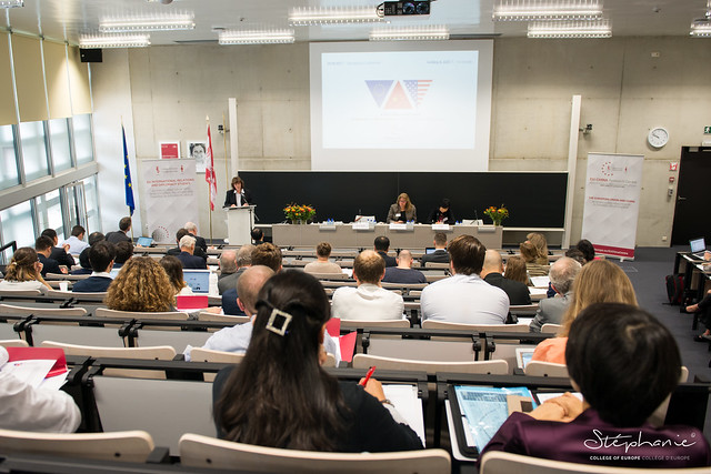 """International Conference: """"A New Order or No Order? Continuity and Discontinuity in the EU-China-US Relationship"""".29 September 2017"""