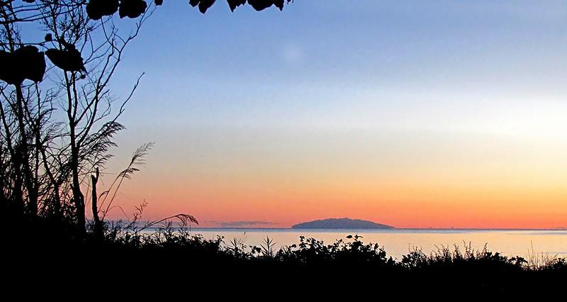 Lever du soleil sur Monte Cristo