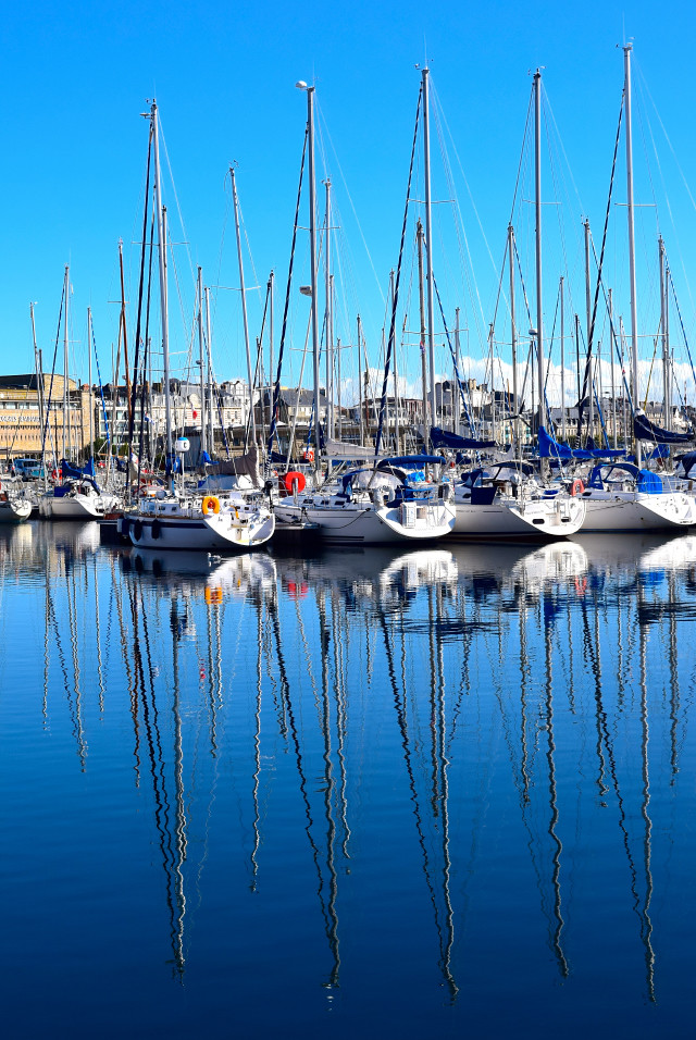 St. Malo Harbour | www.rachelphipps.com @rachelphipps