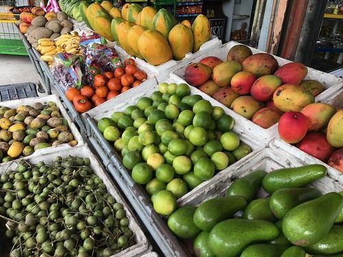Costa Rican produce. Costa Rica's Motto, Pura Vida, Comes Through in Its Humble Dish, Gallo Pinto