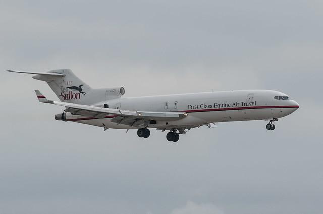 Tex Sutton custom Boeing 727