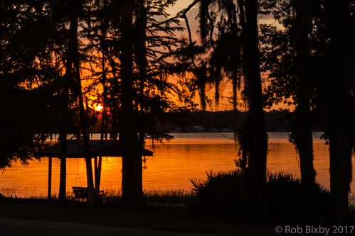 campblanding florida grandchildren grandkids kingsleylake camping family sunset