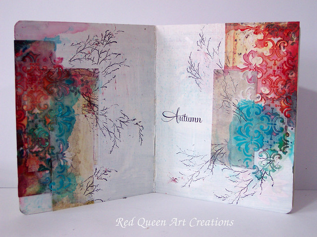 autumn art journal page 1