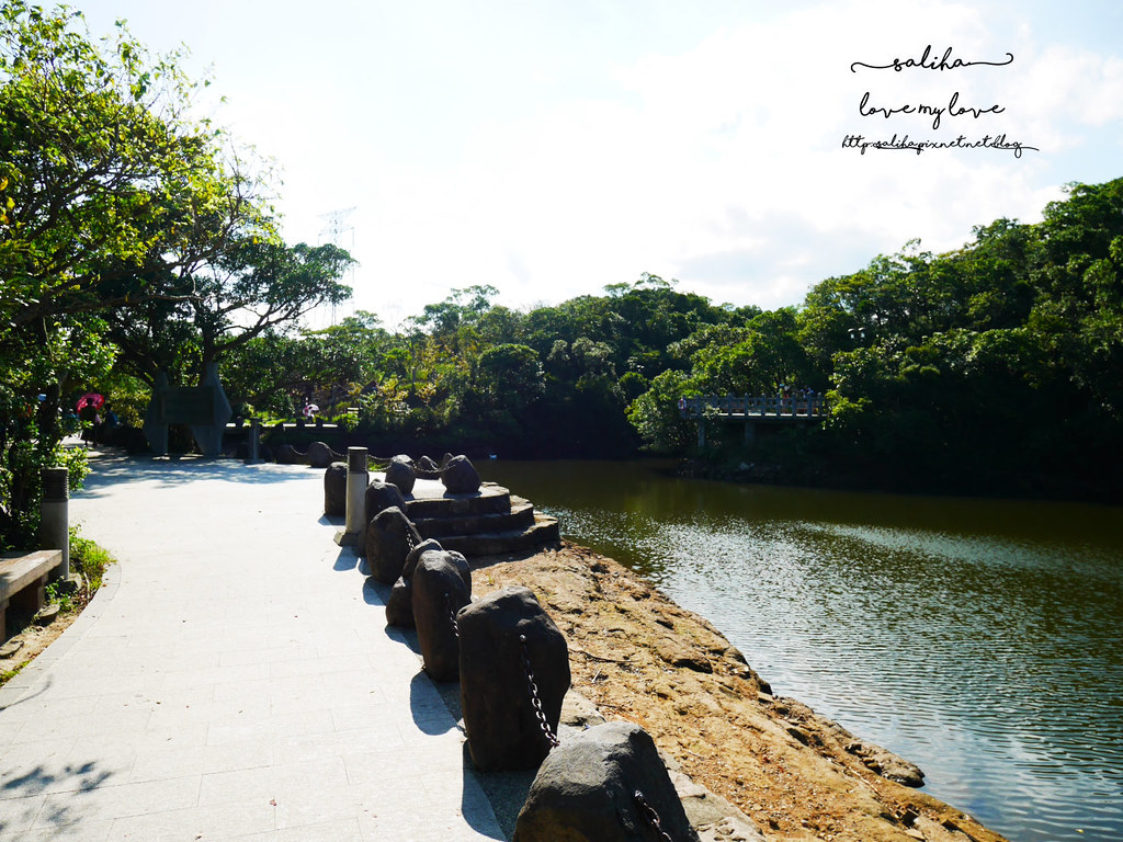 基隆一日遊免費親子景點推薦情人湖公園 (2)