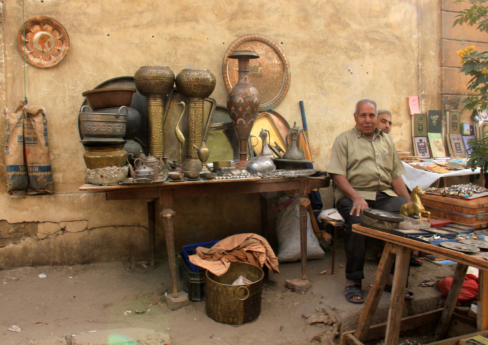 Hunt for antique at flea market of souq al goma