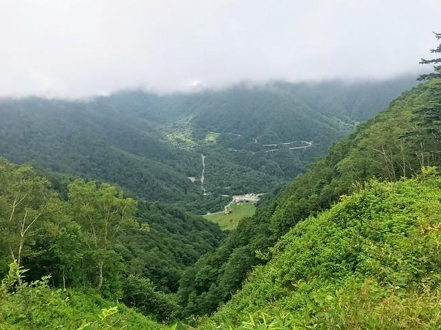 乗鞍岳 平湯・乗鞍新登山道 平湯温泉スキー場