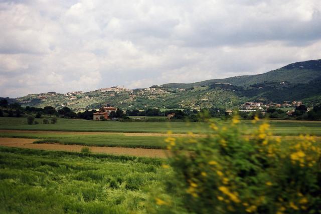 Italy from train 3