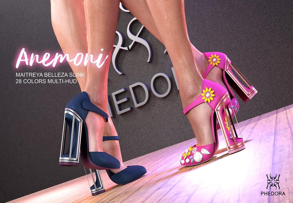 """Phedora. for Fameshed- """"Anemoni"""" heels ♥ - TeleportHub.com Live!"""