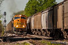 BNSF 9838 | EMD SD70MAC | CN Fulton Subdivision