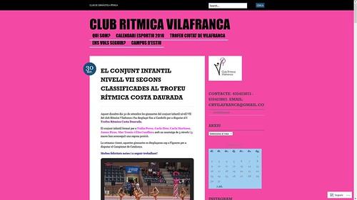 186 - Club Rítmica Vilafranca