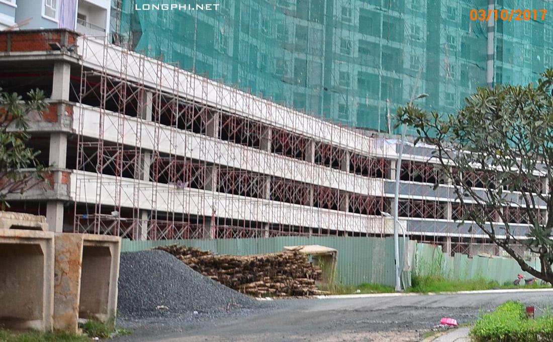 Công tác thi công khối đế M1 Jamona Aparment - Luxury Home.