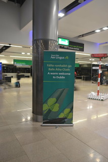 Bilingual welcome sign at Dublin Airport (124STOUT_5668)