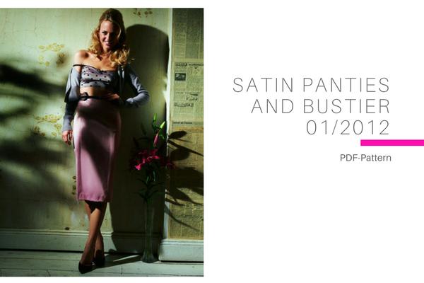 Satin Panties and Bustier