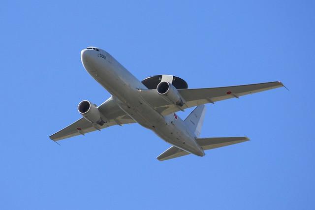 警戒航空隊 第602飛行隊 E-767 74-3503 IMG_3888_2