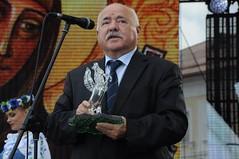 Чергинец получил награду от Лукашенко за значительный личный вклад в развитие белорусской литературы