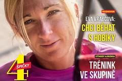 Chcete běhat s nejlepší českou vytrvalkyní? Čtěte v Běhej o plánech Evy Vrabcové