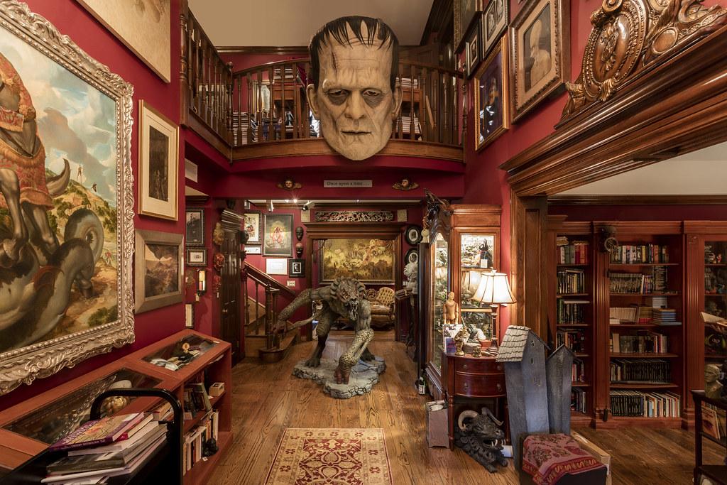 Guillermo del Toro's Bleak House Photo © Josh White / Courtesy of JWPictures.com