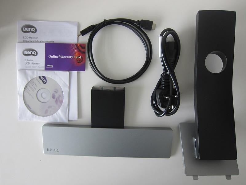 BenQ EW2770QZ - Box Contents
