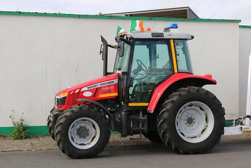 25th September 2017. Irish Coast Guard Massey Ferguson 5440 Tractor at Killala, County Mayo, Ireland