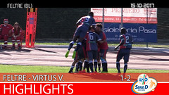 Union Feltre-Virtus V. del 15-10-17