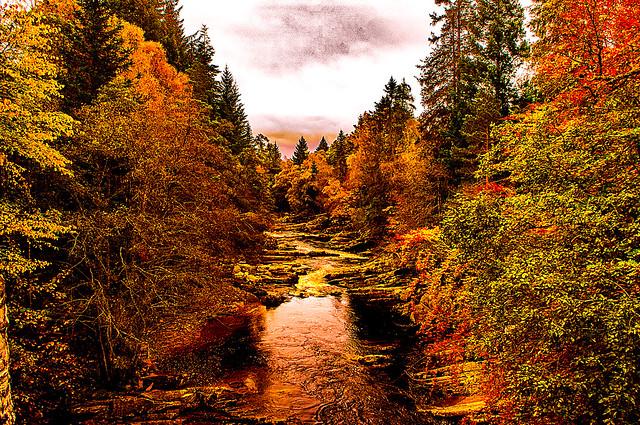 Autumn at River Garry
