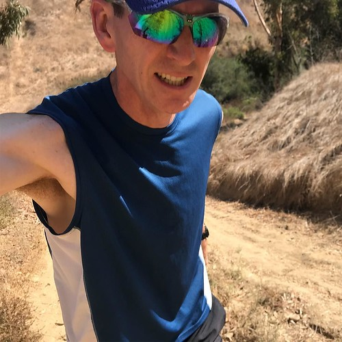 Another day, another selfie on a workout. Tried to capture the angle of this climb, not quite right.