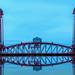 Newport Bridge Reflection_A100014