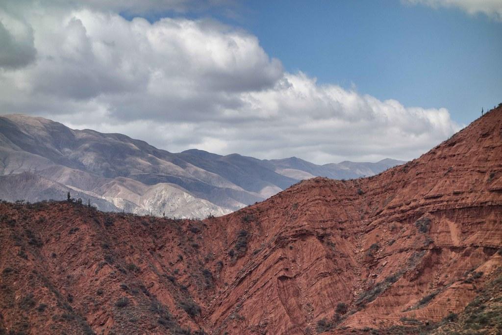 Salta Sud - Montagne rouge
