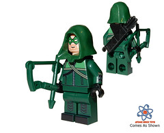Green Arrow Figures in Stock
