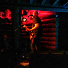 "Last night: Saw Bob Mould play (Solo electric). As always, a great show, and Bob gives his all. (@ejpevents commented: ""He's a force of nature!"") This was the fifth time I've seen him (twice solo, three times with full band.) He gave tribute to the recent"