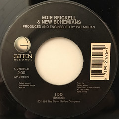 EDIE BRICKELL & NEW BOHEMIANS:WHAT I AM(LABEL SIDE-B)