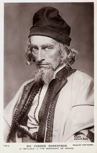 Johnston Forbes-Robertson as Shylock in The Merchant of Venice