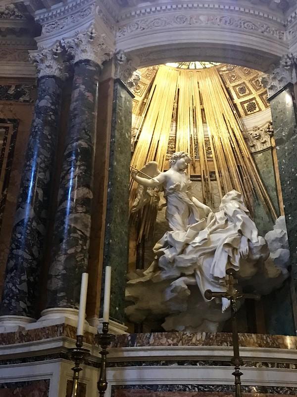 Bernini's The Ecstasies of Santa Teresa