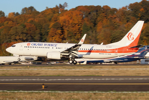 Boeing 737-8KF(WL) OK Airways B-1337 LN6663