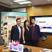 Hong Kong-based Internet of Things startup MobiJuce today (October 30) launched one of the first app-based power bank rental services in Hong Kong. Pictured are (from left) the company's Chief Operating Officer and Chief Marketing Officer, Mr Joseph Yuen; the Chief Executive Officer, Ms Alexis Wong; and the Senior Manager of Marketing and User Acquisition, Mr Nova Altesse.  香港物聯網初創企業MobiJuce今日(十月三十日)推出全港其中首個以應用程式租借充電器服務。圖為(左起)該公司的營運及市場總監袁念祖、執行總監黃靖葦和市場成長魔術師洛凡。