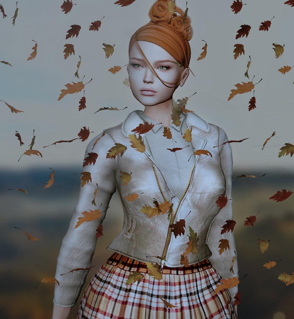 Leaves falling...